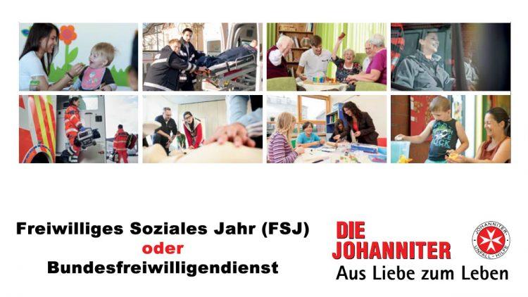 Freiwilliges Soziales Jahr (FSJ) bei den Johannitern in Würzburg