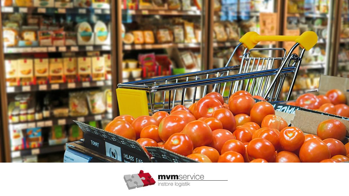 Mitarbeiter (m/w/d) zur Warenverräumung in einem Lebensmittelmarkt in Kürnach