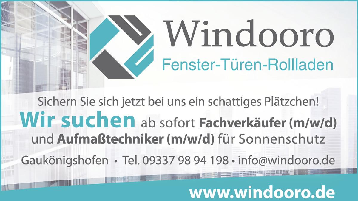 Wir suchen ab sofort Fachverkäufer (m/w/d) und Aufmaßtechniker (m/w/d) für Sonnenschutz!