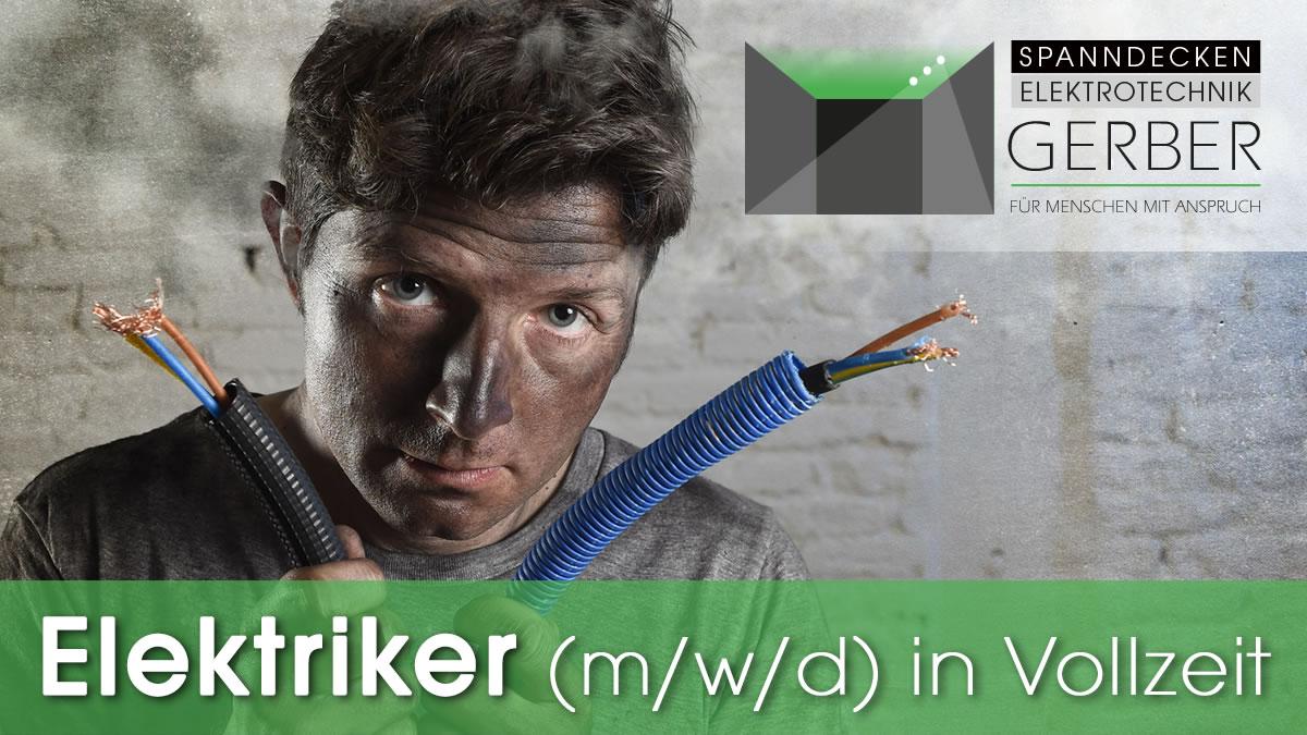 Elektriker (m/w/d) in Vollzeit