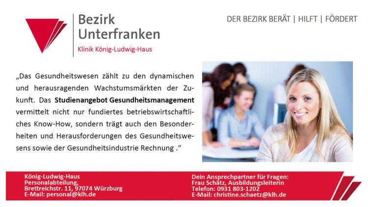 Duales Studium BWL-Gesundheitsmanagement