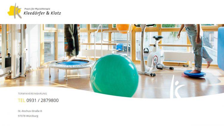 Kleedörfer & Klotz – Praxis für Physiotherapie