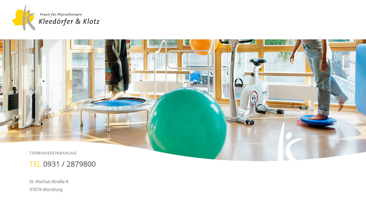 Physiotherapeut (m/w/d) in Vollzeit