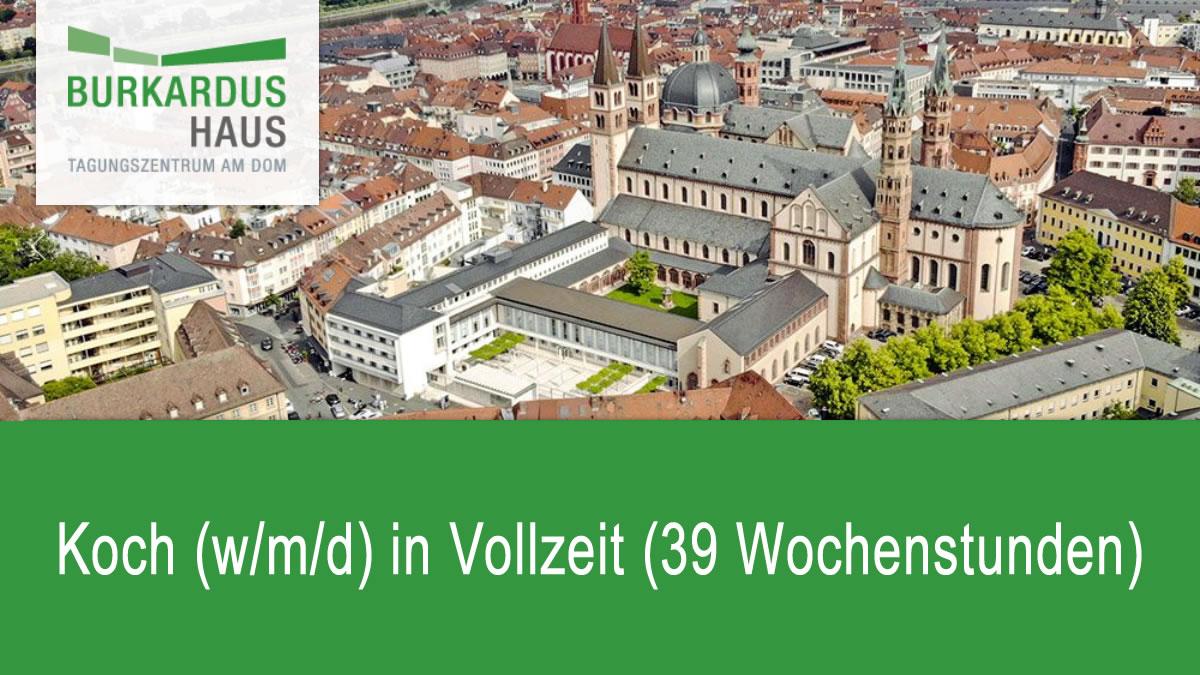 Koch (w/m/d) in Vollzeit (39 Wochenstunden)