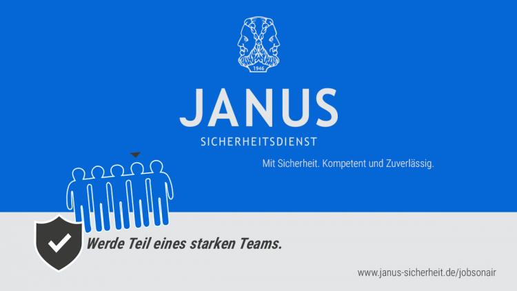 Janus Sicherheitsdienst GmbH sucht Mitarbeiter (m/w/d)