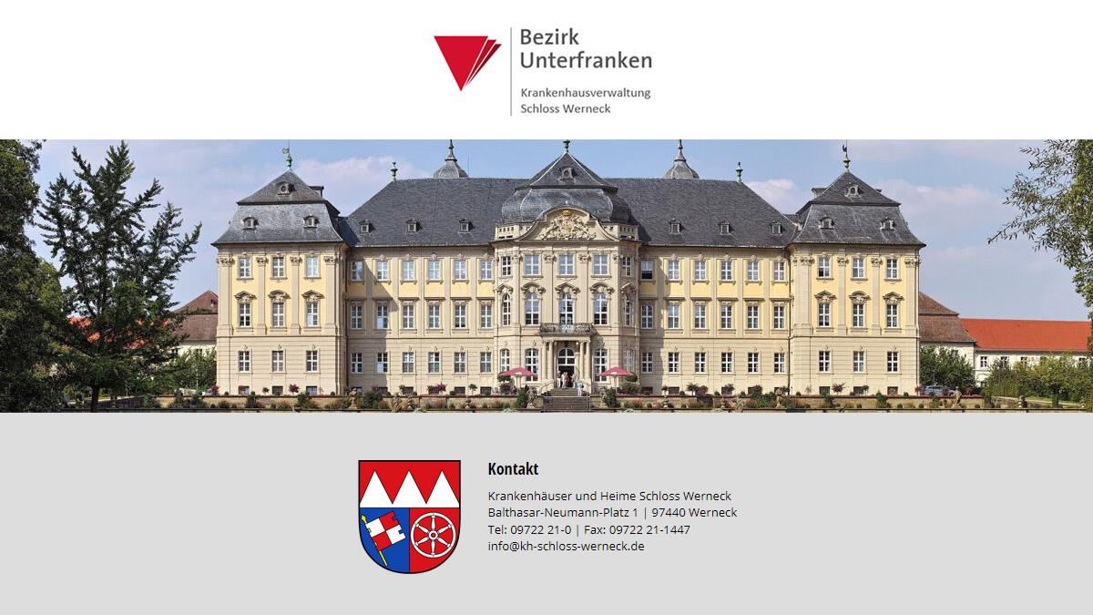 Bezirkseinrichtungen Schloss Werneck – wir suchen Verstärkung (m/w/d)