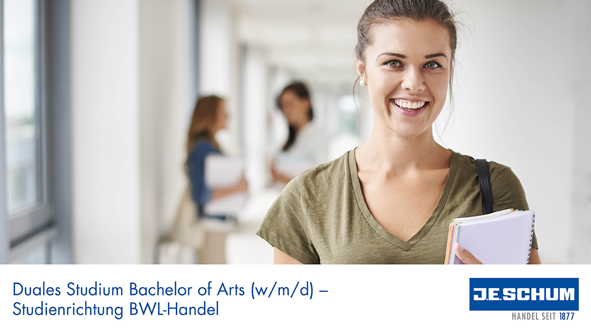 Duales Studium Bachelor of Arts (w/m/d) – Studienrichtung Handel