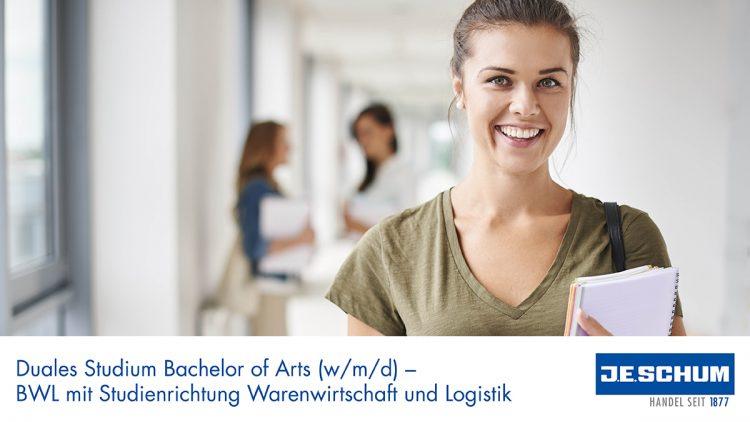Duales Studium Bachelor of Arts BWL mit Studienrichtung Warenwirtschaft und Logistik (m/w/d)