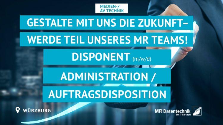Disponent (m/w/d) Administration/Auftragsdisposition