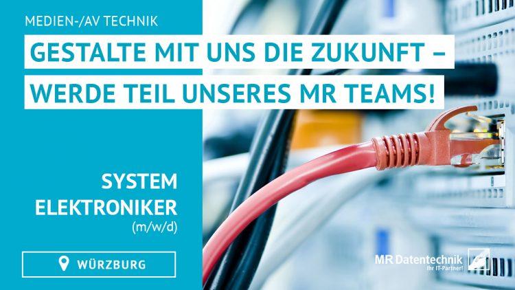 Systemelektroniker Medien-/AV Technik (m/w/d)